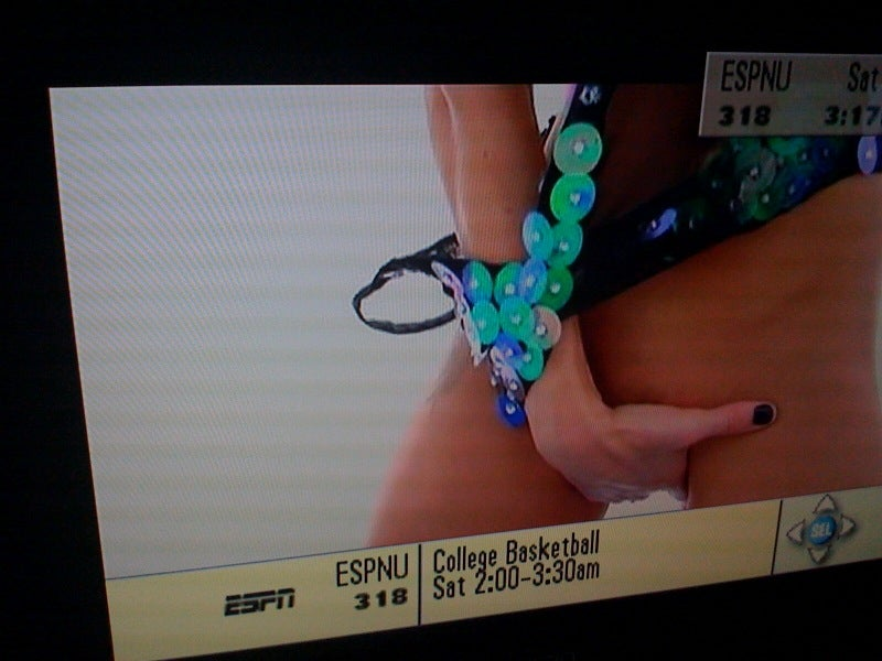 ESPNU/Time Warner Cable Experiencing Technical Difficulties, Porn (NSFW)