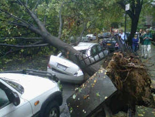 Tornado Hits Twitter (Also, New York City)