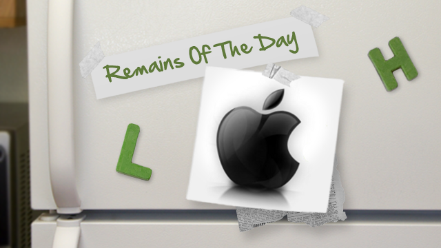 Remains of the Day: Your Next iPhone May Need New Cables, Docks
