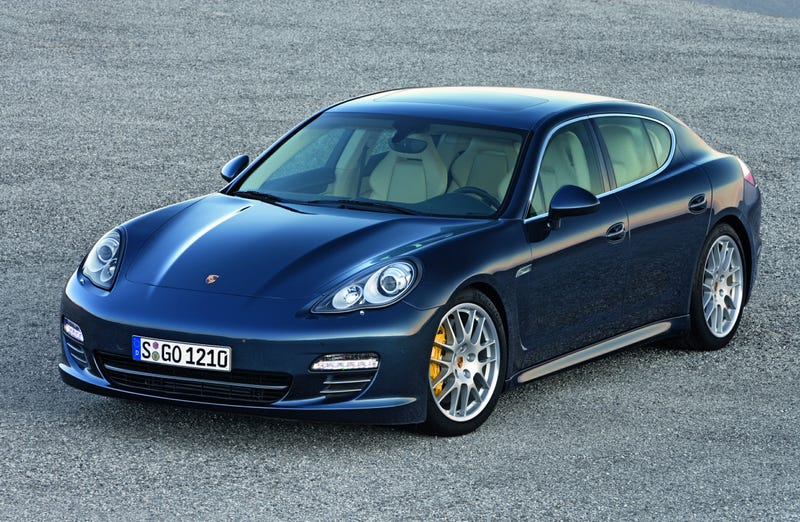 Porsche Panamera Gets Engine Start/Stop With Auto-Shifting Double-Clutch