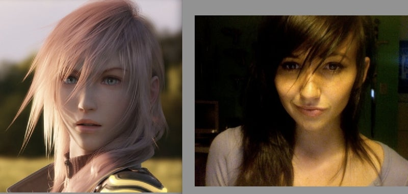 Her Hair Is All Final Fantasy