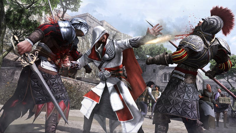 Recruiting Rogues And Restoring Rome In Assassin's Creed Brotherhood