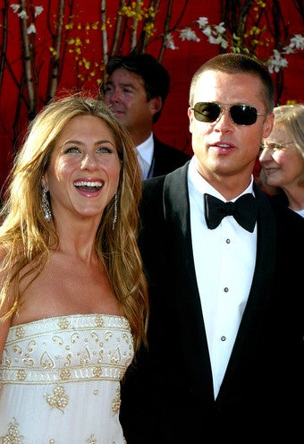 "Brad Takes Jolie Woes to Aniston at ""Secret"" Meeting"