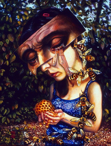 The oddly disturbing royal portraits of Carrie Ann Baade