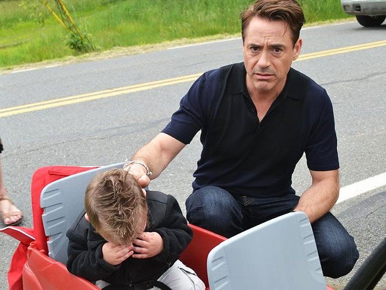 Child Cries After Expecting to Meet Iron Man, Getting RDJ Instead