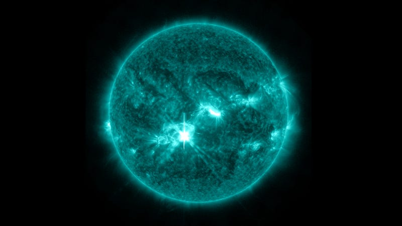 The Sun Spewed Out a Beautiful Solar Flare This Week