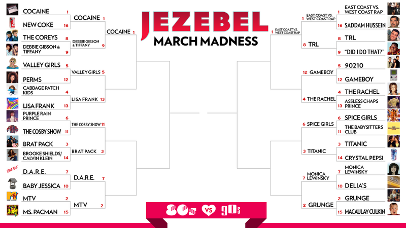 March Madness Day 10: I'll, Like, Totally Be There For You