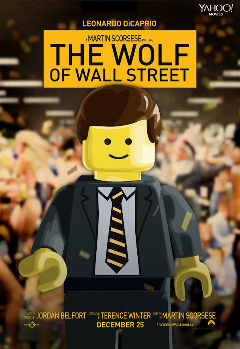 Behold! All the 2014 Best Picture Oscar Nominees in Lego