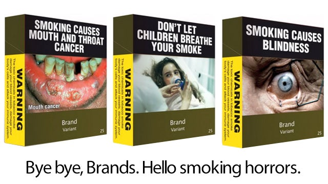 The Cigarette Packages of the Future Are Going to Be Really Horrible