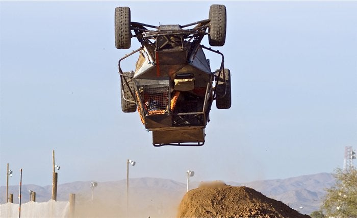 Watch the first 360 degree barrel roll at the Baja 1000 this year