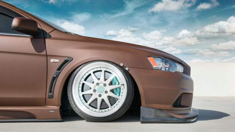 Your Ridiculously Awesome Mitsubishi Evolution X Wallpaper Is Here