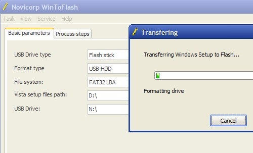 WinToFlash Turns Your Windows Installation DVD into a USB-Based Installer
