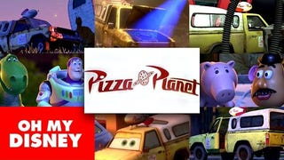The Pizza Planet truck: A Pixar Easter Egg