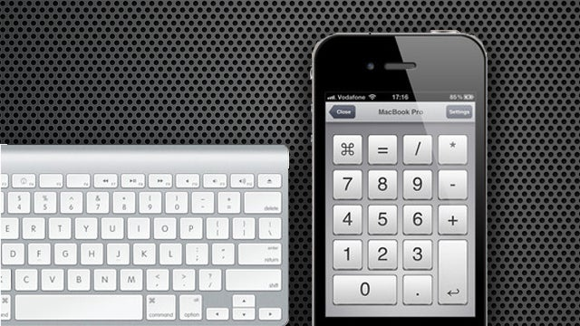 NumPad Remote Turns Your iPhone or iPad into a Number Pad