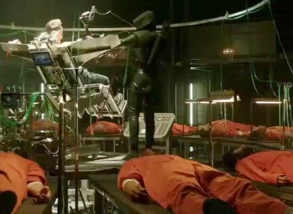Last Night's Arrow Was Like One Long Clip Show from Many, Many Movies