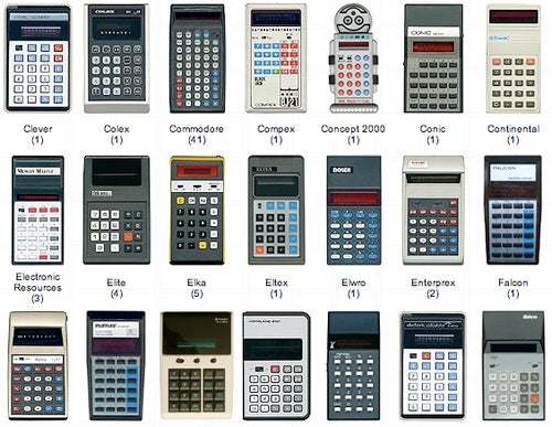 And now, 582 vintage calculators for your viewing pleasure