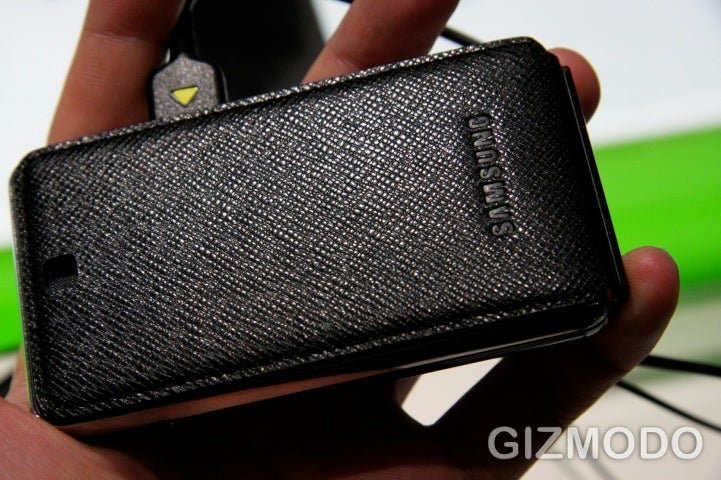 Hands-On Samsung's F480 Prada Phone Knockoff (Verdict: I'll Pass)