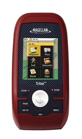 Magellan's Triton GPS Features Touch Screen, National Geographic Maps