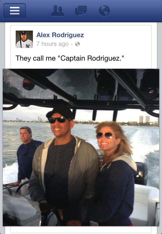 Alex Rodriguez Has Given Himself A New Nickname, So Everyone Be Sure To Call Him That