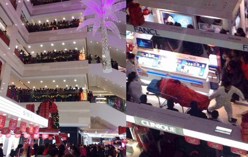 Man Commits Suicide in Mall After Girlfriend Refuses to Stop Shopping