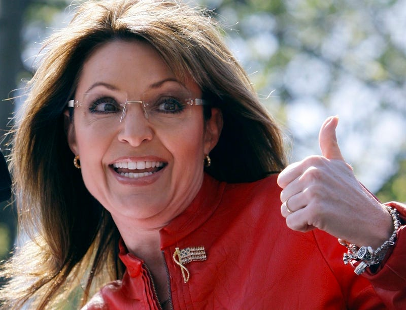 Sarah Palin Will Save Haiti, Too