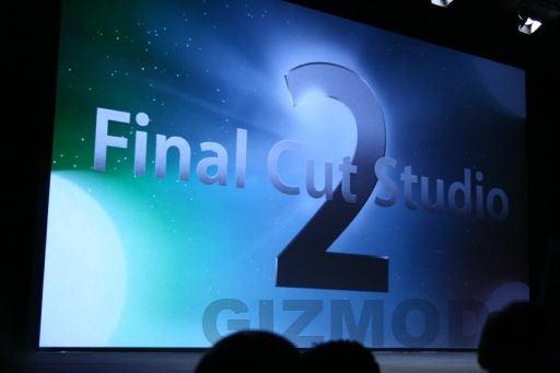 Apple Intros Final Cut Studio 2