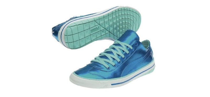 Mega Man Sneakers Are Mega Blue
