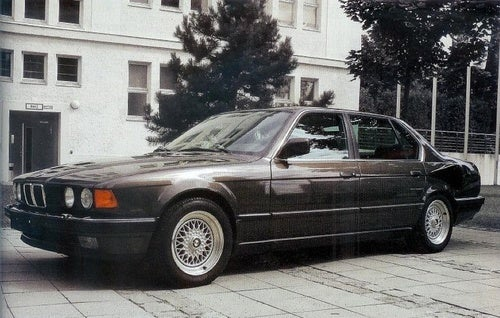 BMW 767: Photos