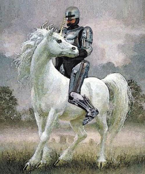 OMG Robo Unicorn!