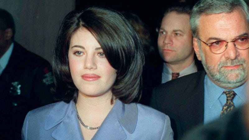 Now You Can Have Sex in Monica Lewinsky's Old Clinton-Era Clothes