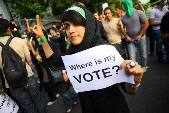 "In Iran, ""Pretty"" Is Sometimes The Protest"