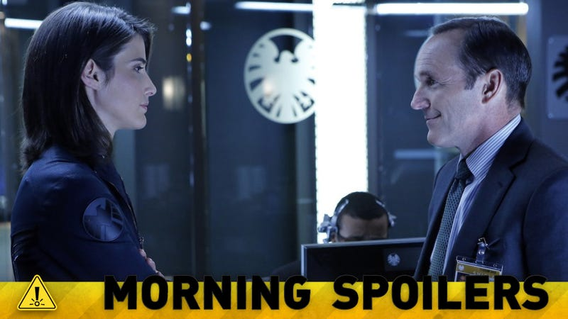 Could there be a surprising cameo in tonight's Agents of SHIELD?