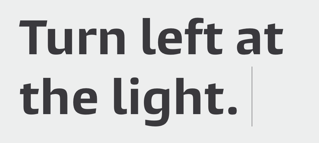This Typeface Makes You a More Alert Driver By Distracting You Less