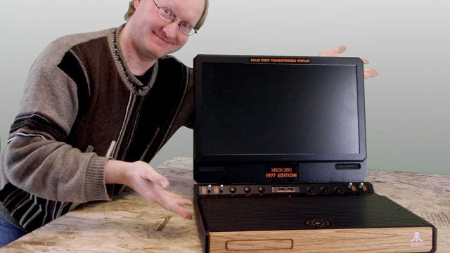 What Do You Get When You Cross An Xbox 360 With An Atari 2600?