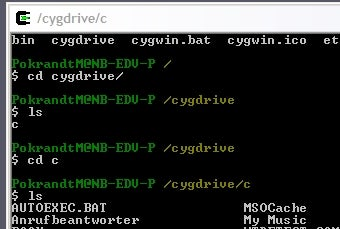 Cygwin 1.7 Adds Windows 7 Support and Many Improvements