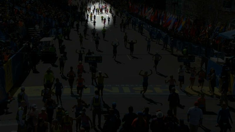 Marathon Runners Carrying Competitor Across Finish Line? Didn't Happen.