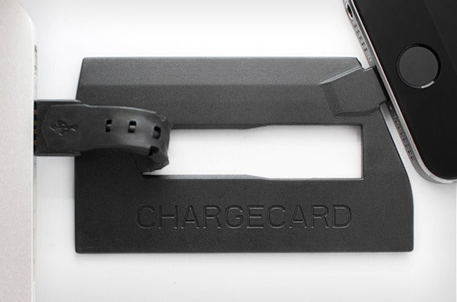 Get 20% Off Chargecard – The Credit Card Sized Backup Charging Cable