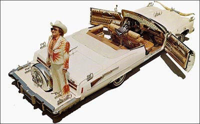 Nudie Cohn's Long White Cadillacs (and Pontiacs)