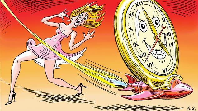Giz Explains: Why Time Flies