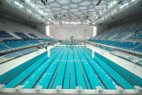 Water Cube Olympic Pool Not Responsible for Michael Phelps's Aquaman Superpowers