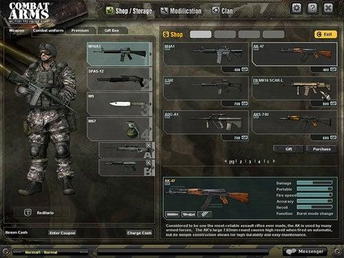 Nexon Launches Combat Arms