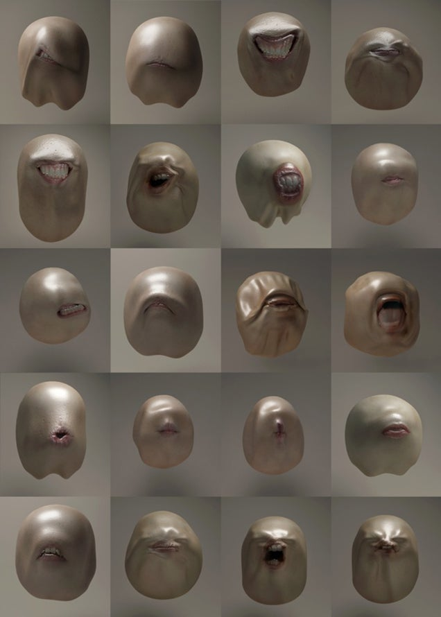 These freaky talking heads will be in your nightmares tonight