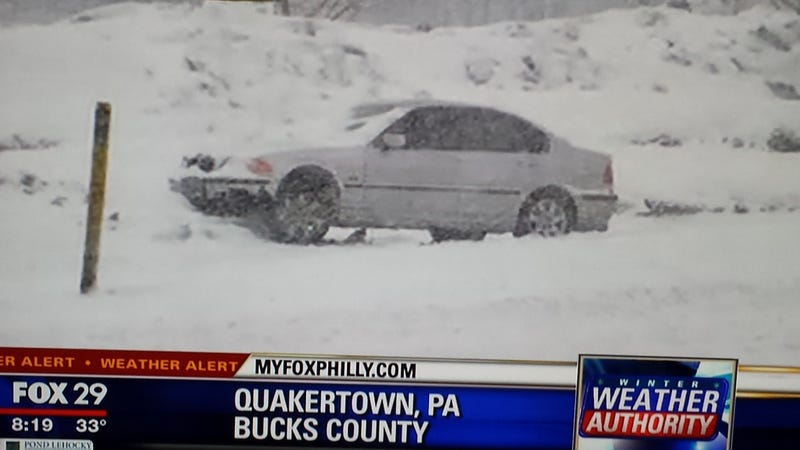 Snow in Philly area