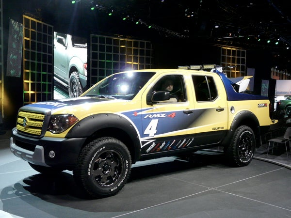 Chicago Auto Show: First Live 2008 Suzuki Equator Pictures, Off Road Versions