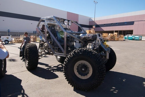 Hydraulic-Powered Rock Crawler Sneaks Into SEMA
