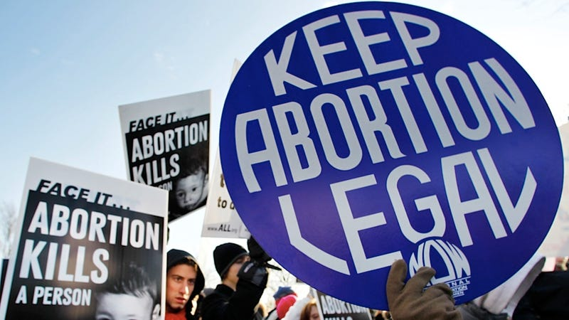 Americans Are Split Almost Exactly Down the Middle About Abortion Rights
