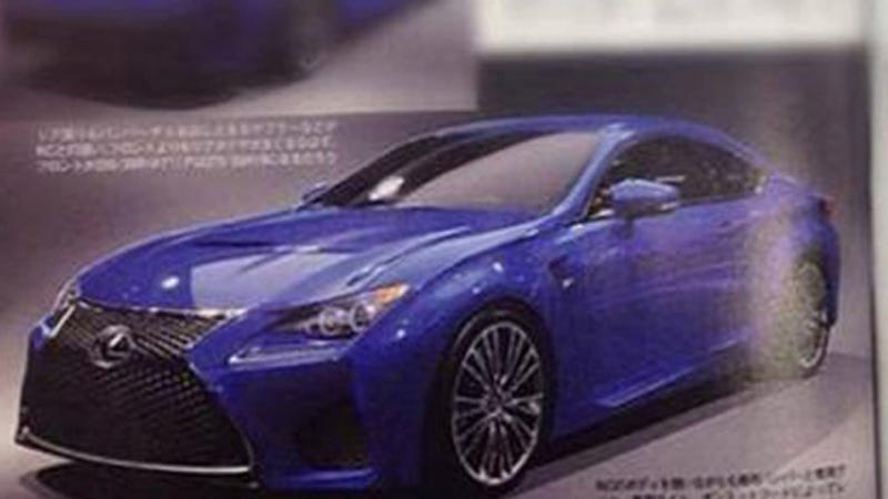 Lexus RC-F: This Could Be It