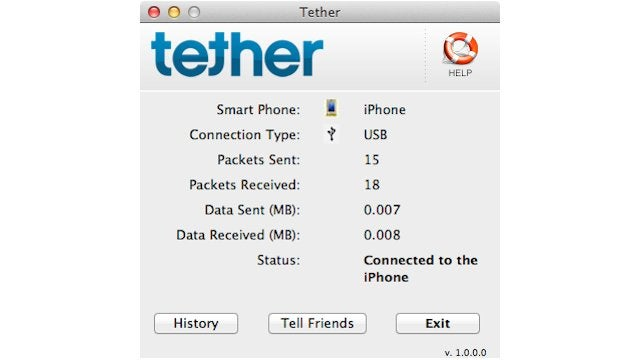 Tethering App Slips Into the iOS App Store (Updated)