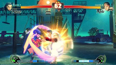 Surprise! Rose Is in Street Fighter IV, Photographic Evidence