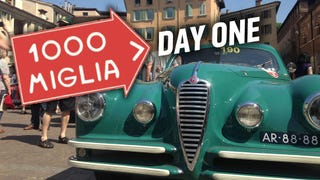 What It's Like Driving In The Mille Miglia